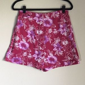 White Stag Hawaiian Skort